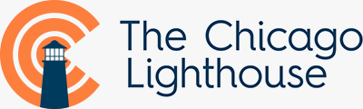 Chicago Lighthouse logo.
