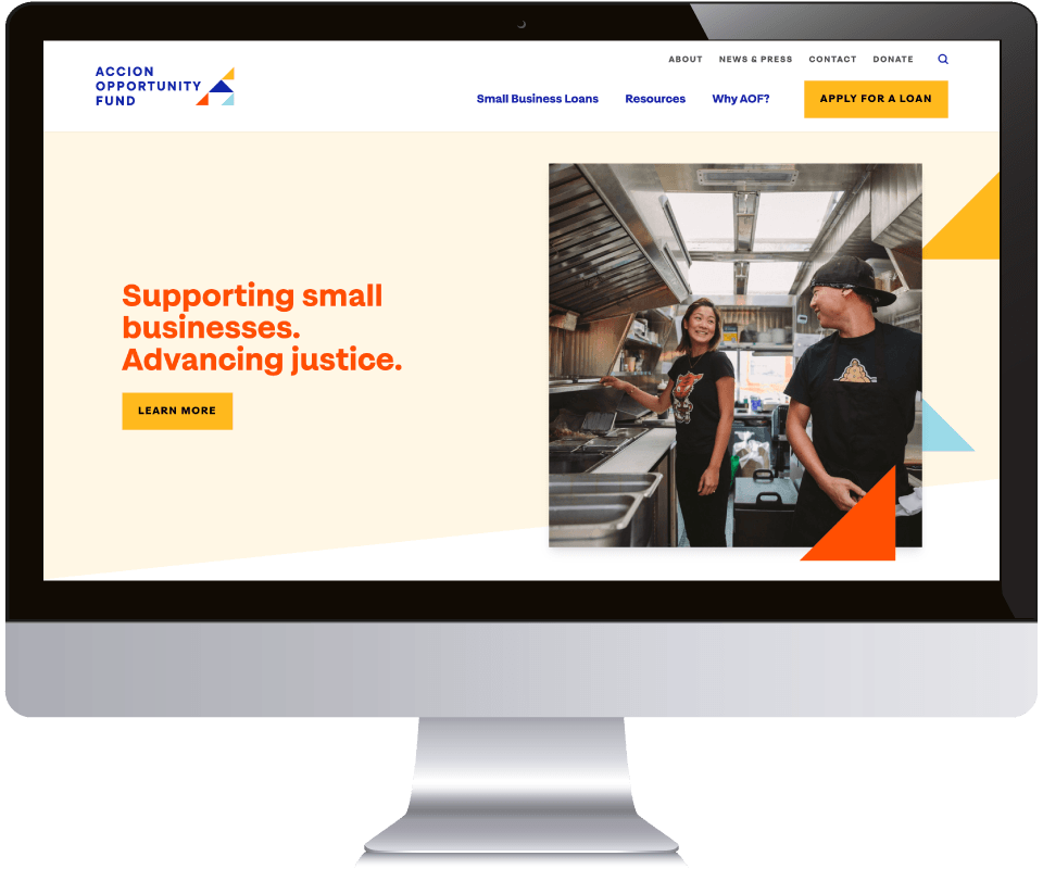 Accion Opportunity Fund website
